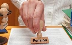 Pension ohne Bescheid!