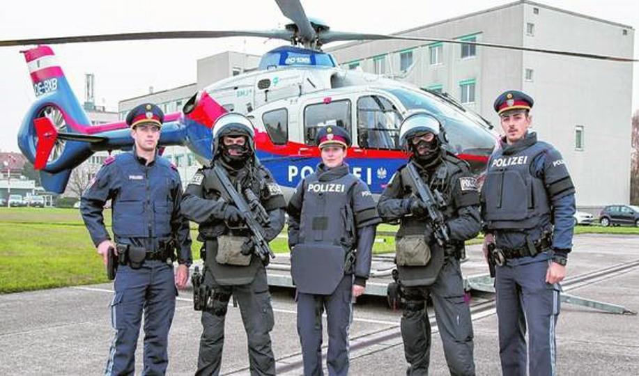 Polizeiinspektion: Flüchte, wer kann!